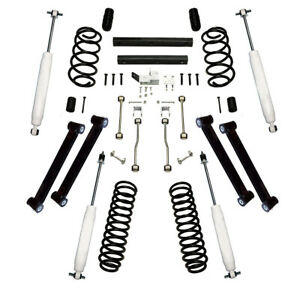 Alloy Usa 4 Suspension Lift Kit With Shocks For Jeep Wrangler Tj 1997 02 61301