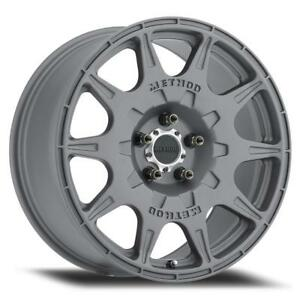 Method Mr502 Rally Rim 18x8 5x4 5 38 Offset Titanium Qty Of 1