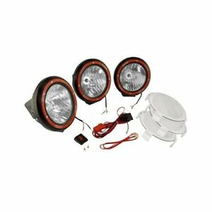 Rugged Ridge Hid Off Road Lights 35w Round 5 Dia Clear Lens 1520564