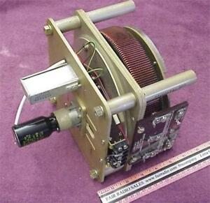 General Radio Variac 400hz 120v M20 Variable Transformer