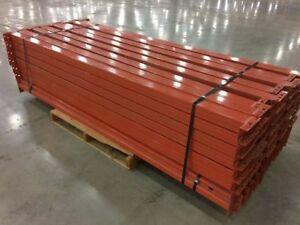 Interlake Mecalux Pallet Rack Beams New Style Size 3 x96 Qty 42 Model 282
