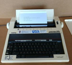Brother Correctronic 340 Electronic Typewriter