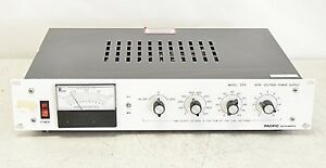 Pacific Instruments 204 High Voltage Power Supply 204 10l
