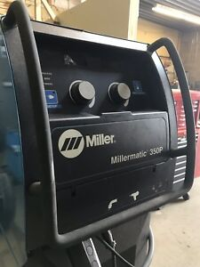 Millermatic 350p Push pull System