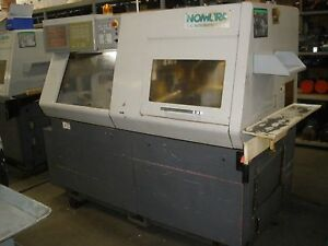 2004 Nomura Nn20b5 Cnc Swiss Lathe Sub Spindle Live Tools video