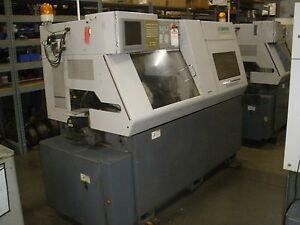 2003 Nomura Nn20b5 Cnc Swiss Lathe Sub Spindle Live Tools With Video