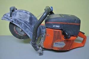 Husqvarna K760 X torq 74cc 12 Wet dry Concrete Cut Off Saw