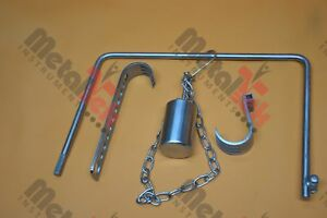 Charnley Initial Incision Retractor Orthopedic Surgical Instruments By Mti