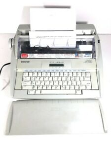 Brother Electronic Typewriter Gx 8250 Daisywheel Correctronic Dictionary Works