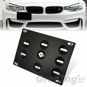Bumper Tow Hook License Plate Bracket Holder For Bmw 12 18 3 4 5 Series Mini F56
