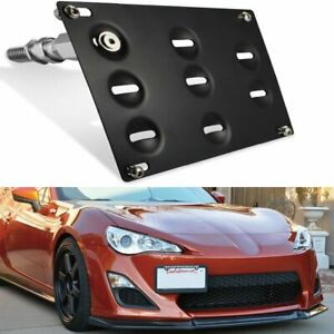 Front Tow Hook License Plate Bracket For Toyota 86 Scion Frs Subaru Wrx Sti Brz