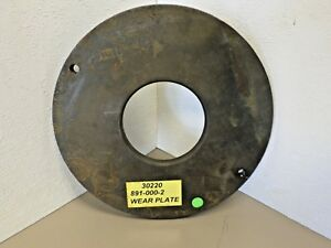 Hydromatic 8910002 Suction Wear Plate For 40mmp Pumps