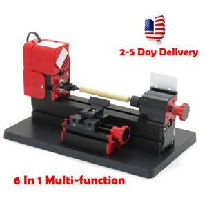 Durable 6 1 Lathe Diy Machine Tool Kit Jigsaw Milling Lathe Drilling Machine Usa