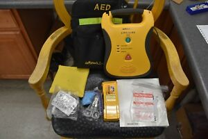Defibtech Ddu 100a Lifeline Aed Defibrillator And Hardshell Carrying Case Free S