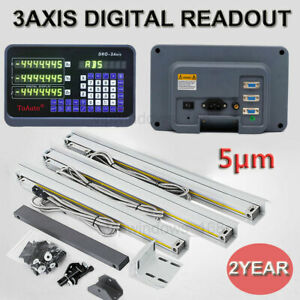 5 m Digital Readout 3axis Linear Scale Encoder Travel 150 350 1000mm Milling Cnc