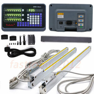 3axis Cnc Milling Machine Digital Readout 200 400 1000mm Linear Scale 5 m Encode