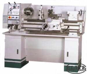 New Birmingham 12 Swing Precision Geared Head Gap Bed Bench Lathe With