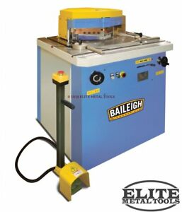 New Baileigh Sheet Metal Notcher Sn v04 ms