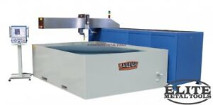 New Baileigh 96 X 60 Cnc Water Jet Wj 85cnc