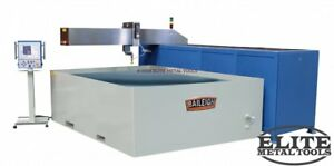 New Baileigh 60 X 144 Cnc Water Jet Wj 512cnc