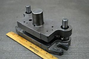Union Mfg Punch Press Die Shoe Tooling Pneumatic Die Frame Air Bench Press