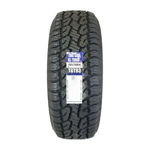 4 Four New Trail Guide P265 70r16 All Terrain 112t Tgt93 2657016 R16 Tire