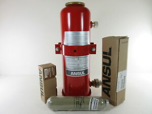 Ansul Lt a 101 20 Dry Chemical Fire Extinguisher System 17 Lbs 50 Lbs Total Wt