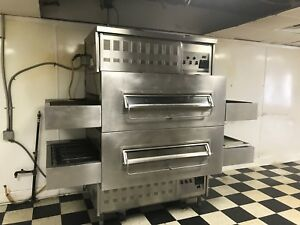 Middleby Marshall 350 s Double Stack Pizza Conveyor Ovens Natural Gas
