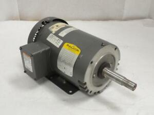 158066 Old stock Baldor Jmm3546t Ac Motor 1hp 208 230 460v 1725rpm 3ph