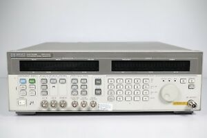 Keysight Used 83732b Synthesized Signal Generator 10 Mhz To 20 Ghz agilent hp