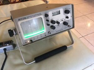 Avcom Network Spectrum Analyzer Model Nsa 1000a Made In Usa 1 1000 Mhz Tested