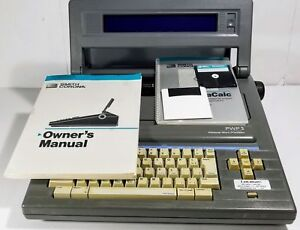 Smith Corona Pwp3 Word Processor Electric Typewriter With Original Manual