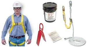 Contractors Roofers Kit Fall Protection Safety Harness