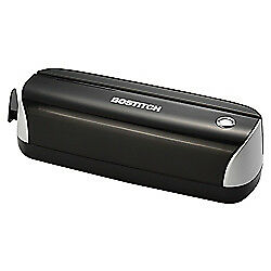 Bostitch r Electric Or Battery powered 3 hole Punch Black silver