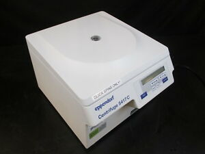 Eppendorf 5417c Benchtop Centrifuge With Rotor