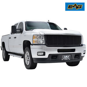 Eag 2011 2014 Chevy Silverado 2500 3500 Black Billet Grille With Abs Shell