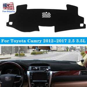 Dashmat Car Dash Board Cover Dashboard Mat Pad For Toyota Camry 2 5l 2012 2017
