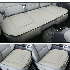 Breathable Pu Leather Bamboo Charcoal Car Seat Cover Pad Mat Auto Chair Cushion