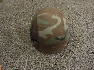 USGI military PASGT Kevlar helmet with cover and sweatband sz Large L grt shape