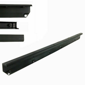 Tailgate Cover Molding Top Spoiler Cap Protector Abs For 05 15 Toyota Tacoma