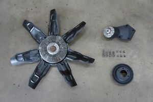 Engine Cooling Fan With Hub And Pulley 94 02 Dodge Ram Cummins Turbo Diesel 5 9l