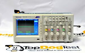 Tektronix Tbs1104 100 Mhz 4 ch 1 Gs s Digital Storage Oscilloscope Cal d