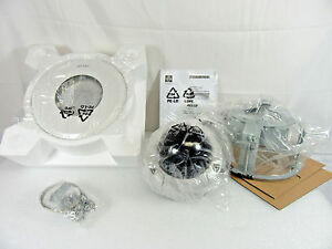 Pelco Is50 chv10f Camclosure 2 Color Cctv Dome Camera Kit W Mounts