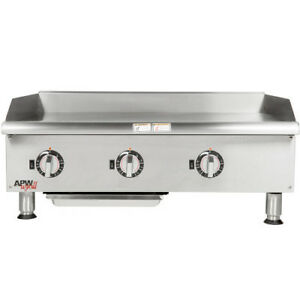 Apw Wyott Eg 36i 36 Electric Countertop Griddle