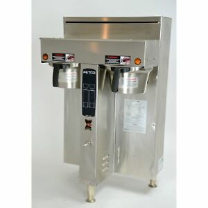 Fetco Cbs 2052 Extractor Twin Dual Coffee Brewer Commercial Machine 240v