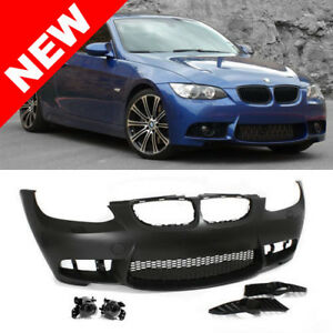07 10 Bmw E92 E93 3 Series M3 Style Non Pdc Front Bumper Kit W Clear Fog Lights