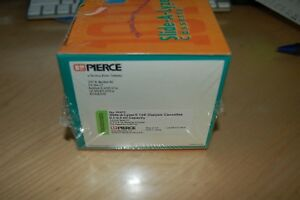 Pierce Slide a lyzer 10k 0 1 0 5ml Dialysis Cassettes 66415 10 pack 10000 Mwco W
