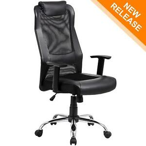 Kadirya High Back Mesh Office Chair Ergonomic Computer Desk Executive Chair