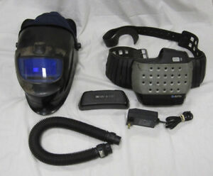 Speedglas 9002x Welding Helmet With Adflo Respirator And Extra Battery