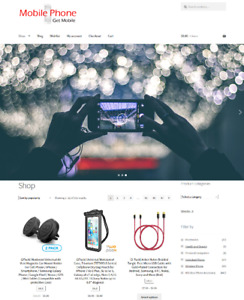 Mobile Phones Website Business For Sale Full Stock Mobile Phones